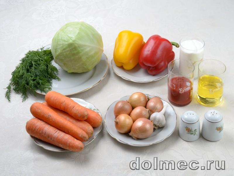 Голубцы из капусты моркови и болгарского пертса: фото 1