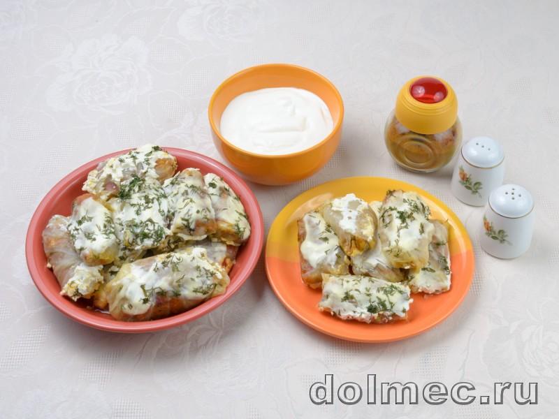 Голубцы из капусты моркови и болгарского пертса: фото 5
