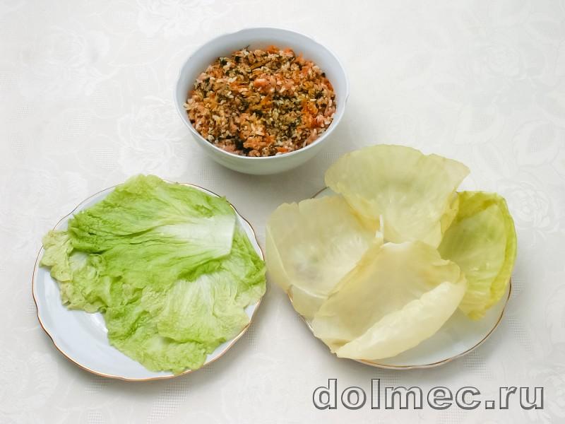 Голубцы с фаршем и рисом: фото 2