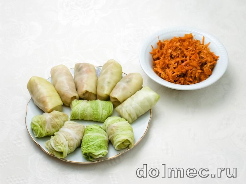 Голубцы с фаршем и рисом: фото 4