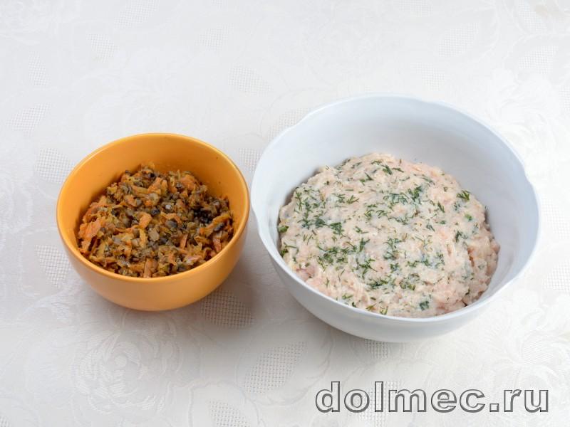 Голубцы с куриным мясом и грибами: фото 2
