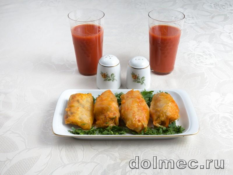 Голубцы с куриным мясом и грибами: фото 4