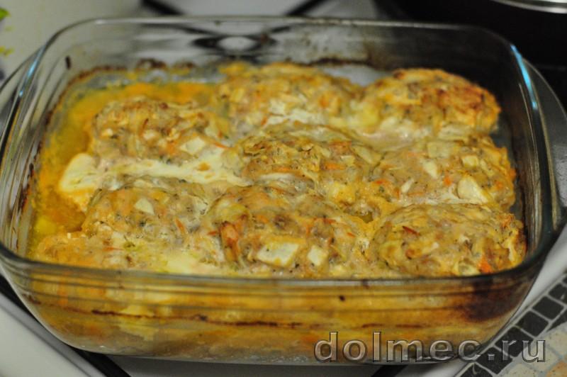 Голубцы ленивые в духовке рецепт пошаговый