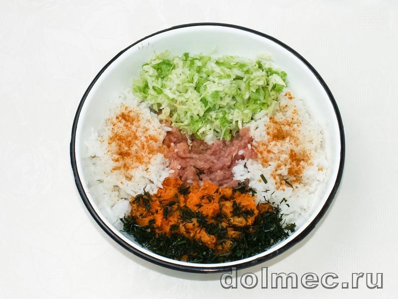Ленивые голубцы в духовке в томатно сметанном соусе: фото 2