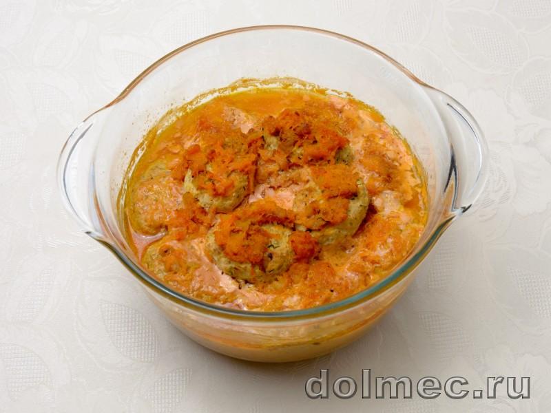 Ленивые голубцы в духовке в томатно сметанном соусе: фото 4